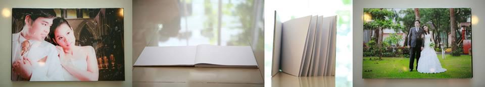 สมุดเซ็นอวยพรปกคริสตัล LCD - ไส้ในกระดาษปอนด์ขาว 100 แกรม