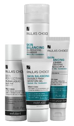 ลด 20 % PAULA'S CHOICE :: Skin Balancing Simple Kit เซตบำรุงสำหรับผิวมัน ผิวผสม ช่วยลดสิว กระชับรูขุมขน