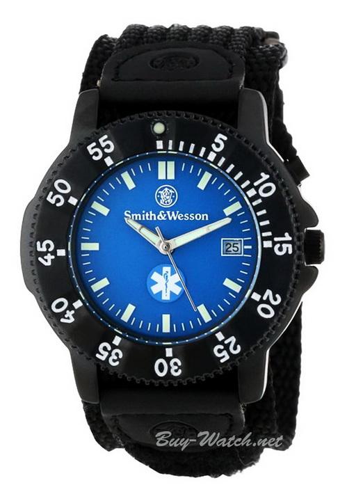 นาฬิกาทหาร Smith&Wesson Watch แบบมีพรายน้ำและ ไฟ LED EL จาก Buy-Watch