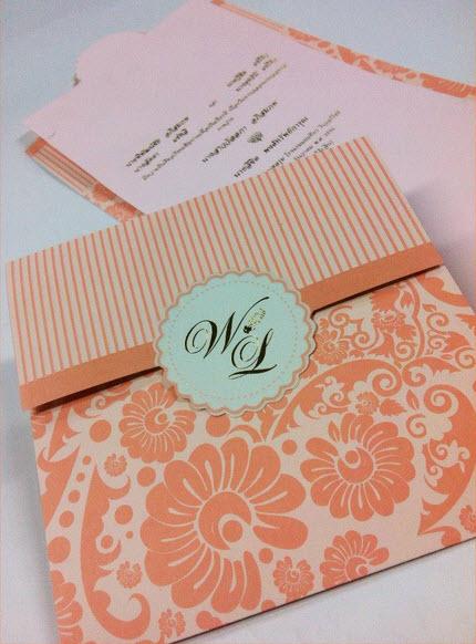 การ์ดแต่งงาน VIP-SCT สามพับ (6-0031,6-0036)