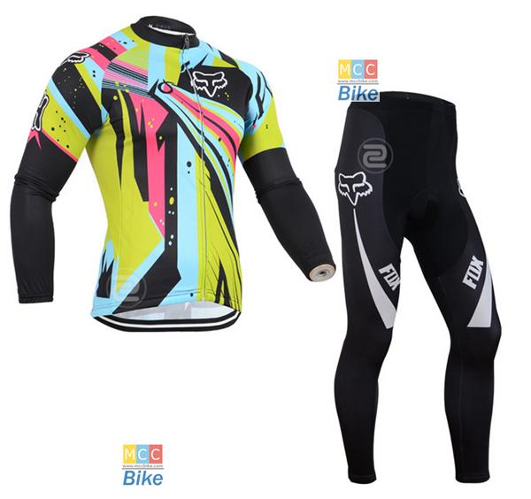 ชุดปั่นจักรยาน เสื้อปั่นจักรยาน และ กางเกงปั่นจักรยาน Fox ขนาด XL