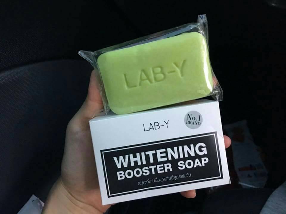 Lab-Y Whitening Booster Soap สบู่แลปวาย เรทส่ง 60-70 บาท