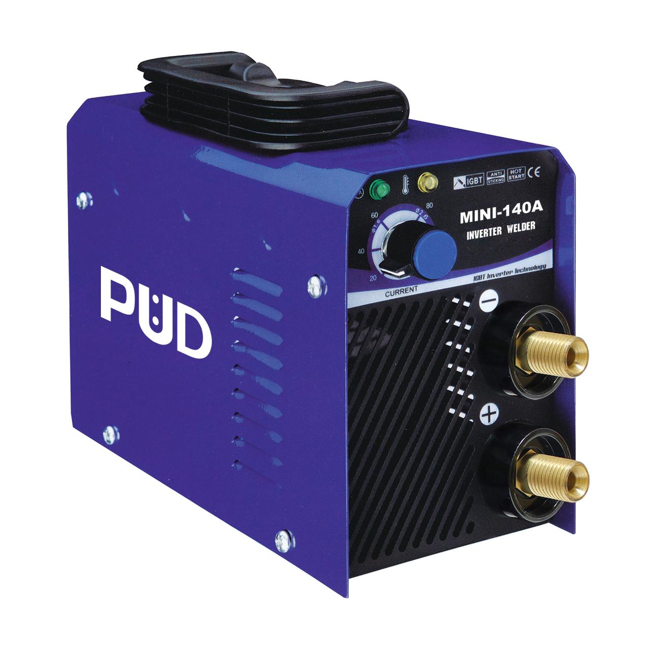 เครื่องเชื่อม IGBT อินเวอร์เตอร์กระแสไฟ 140A PUD MINI 140A