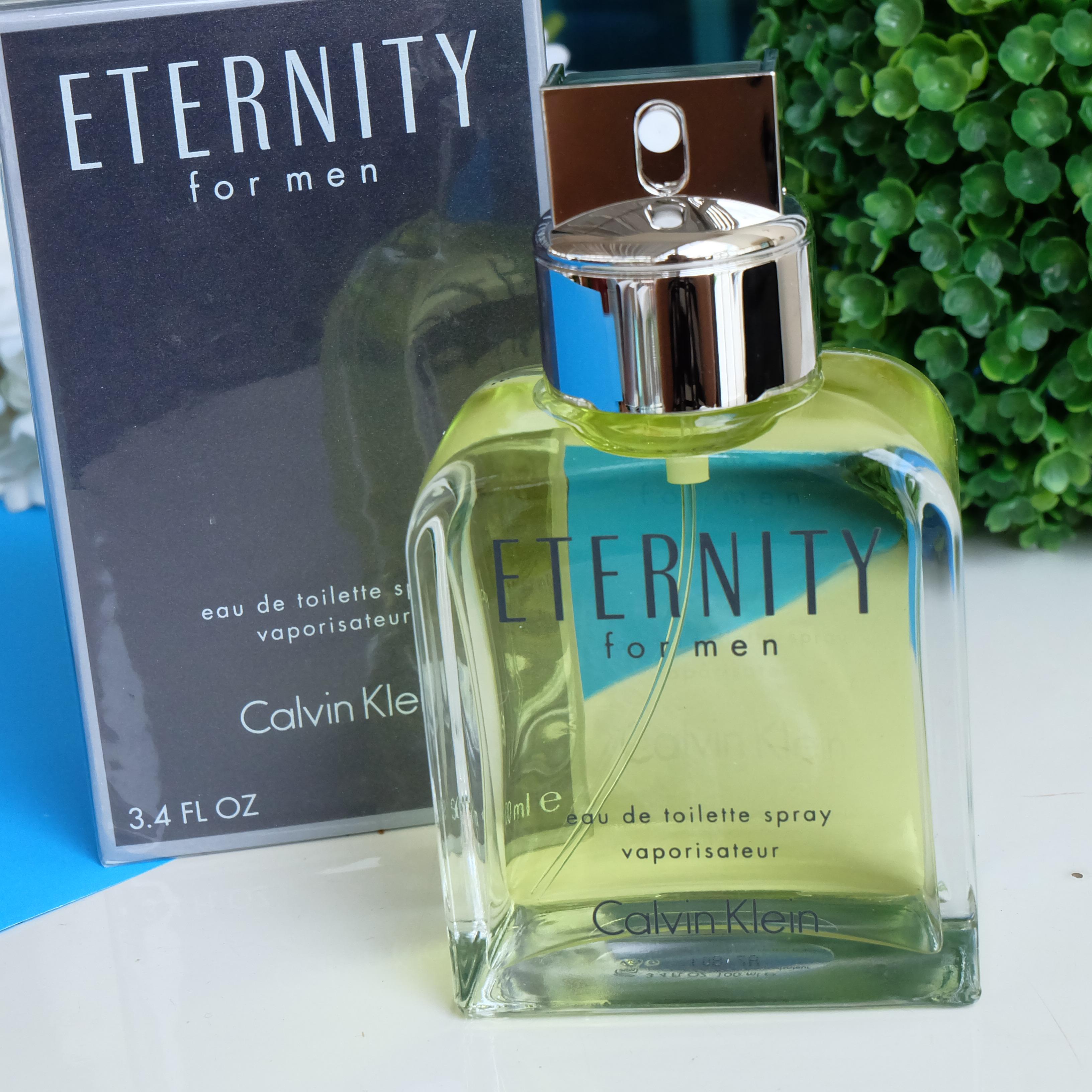 น้ำหอม Calvin Klein Eternity perfume Counter brand แท้ 100 ML