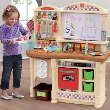 ชดครวรานเบเกอรเดกชดใหญ ยหอ Step Little Bakers Kitchen - Step 2 little bakers kitchen
