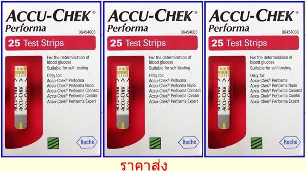 ACCU-CHEK PERFORMA 3*25 Test strips