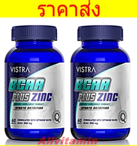 VISTRA BCAA PLUS ZINC - 2 * 60T