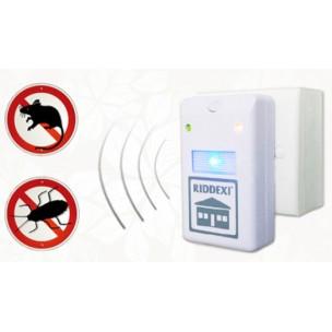 เครื่องป้องกันหนูแมลงสาปด้วยคลื่นเสียง RIDDEX