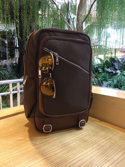 กระเป๋าเป้ Vintage Nubuck Leather Backpack