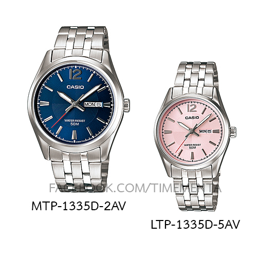 Casio MTP-1335D-2AV+LTP-1335D-5AV