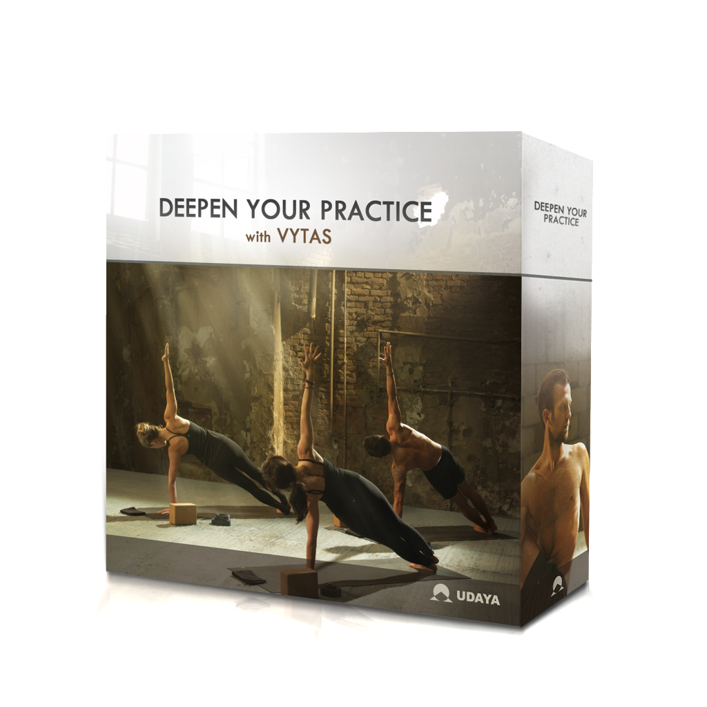 Deepen Your Practice with Vytas 13 DVD