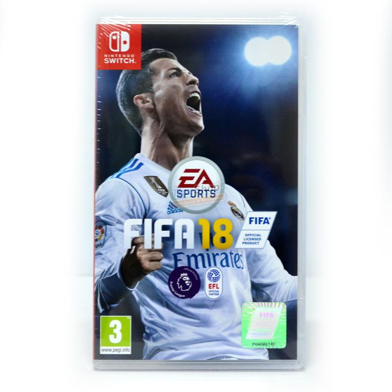 Nintendo Switch™ FIFA 18 Zone US / English ราคา 1590.- // ราคาใหม่ ถูกลง!!