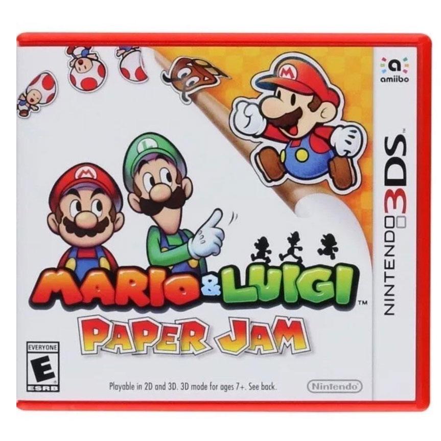 3DS Mario & Luigi: Paper Jam Zone US / English