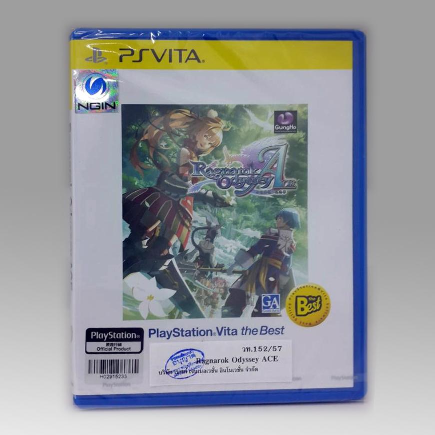 PSVita Ragnarok Odyssey ACE (The Best) Zone 3 Asia / English