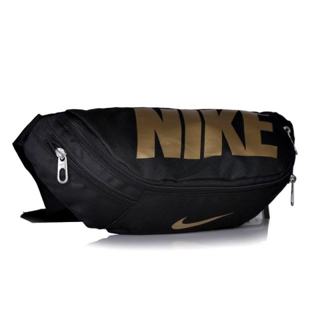 กระเป๋าคาดเอวขี่มอเตอร์ไซค์ NIKE ดำ-ทอง
