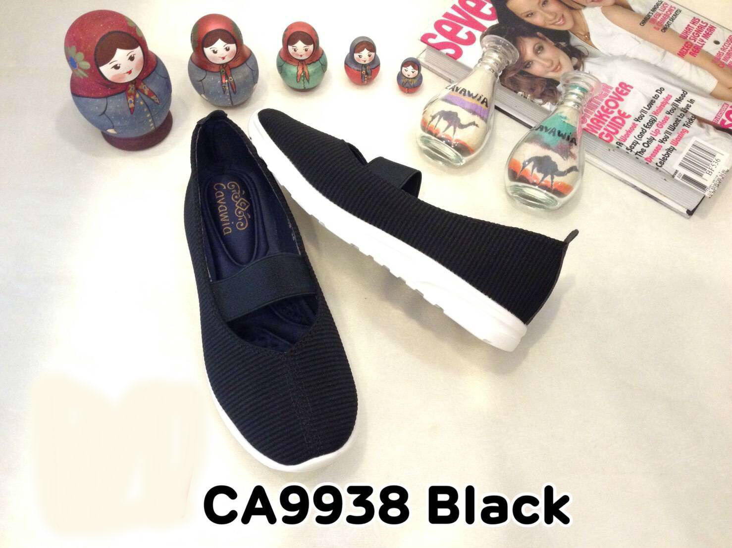 รองเท้าคัทชู ส้นเตี้ย สไตล์เพื่อสุขภาพ สวยเรียบเก๋ พื้นนิ่มซัปพอร์ตเท้า งานสวย ใส่สบาย แมทสวยได้ทุกชุด (CA9938)