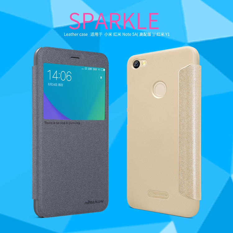 เคส Xiaomi Redmi Note 5A Pime - Nillkin Sparkle Leather Case