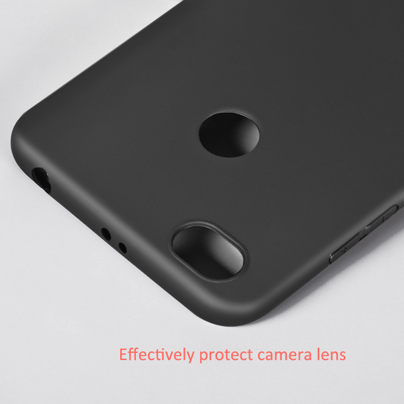 เคส Xiaomi Redmi Note 5A Prime DFIFAN TPU แบบนิ่ม (สีดำ)