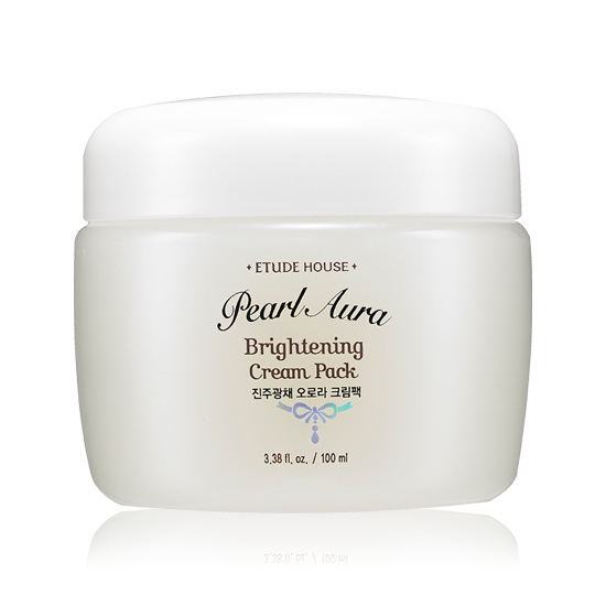 Etude House Pearl Aura Brightening Cream Pack 100ml.