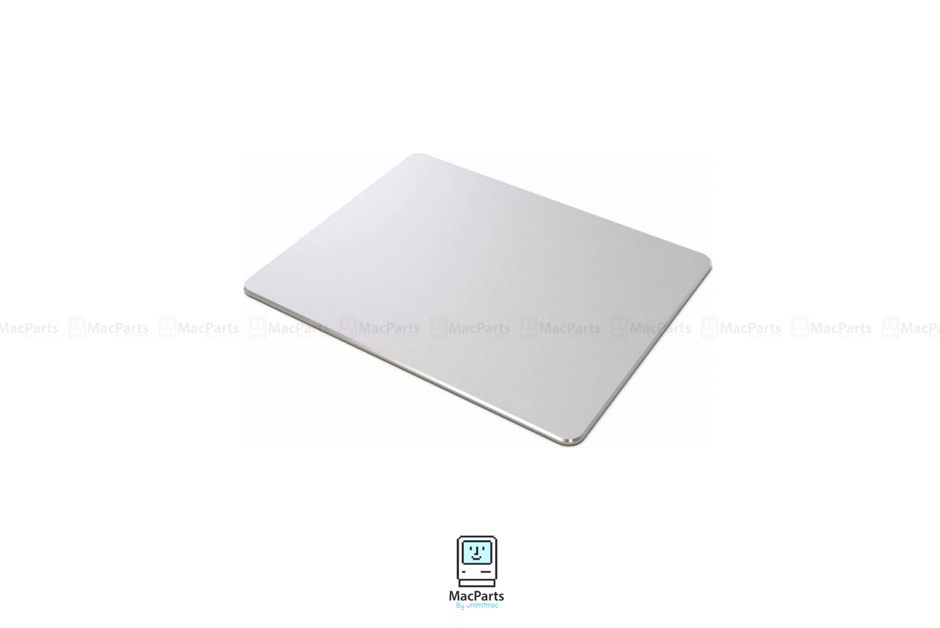 Mouse Pad Aluminum Silver แผ่นรองเมาส์ อลูมิเนียม