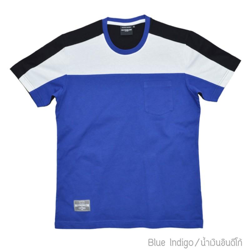 เสื้อยืดคอกลม สำหรับ ผู้ชายอ้วน 2XL 3XL 4XL รหัส NR60029