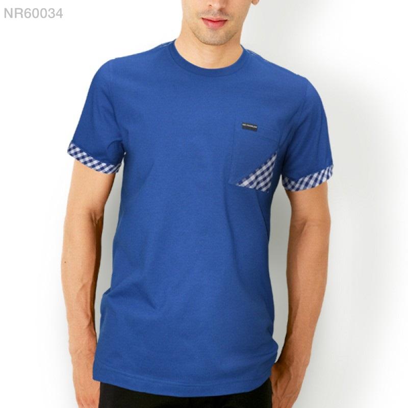 เสื้อยืดคอกลม สำหรับ ผู้ชายอ้วน 2XL 3XL 4XL รหัส NR60034