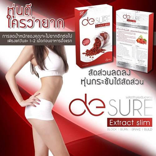โปรโมชั่นลดน้ำหนักซื้อDe-sure extra slim 3 กล่อง แถมฟรี กางเกงในMunafie เก็บพุง 1 ตัว!!