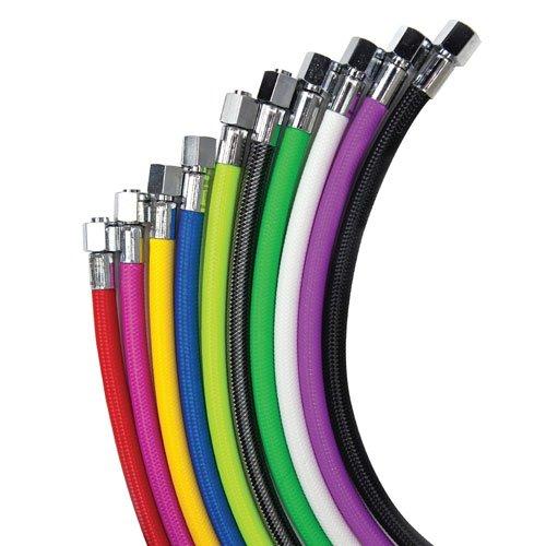 สาย Regulator / สาย Inflator / สาย guage แบบสายถักสีๆ ยี่ห้อ Miflex