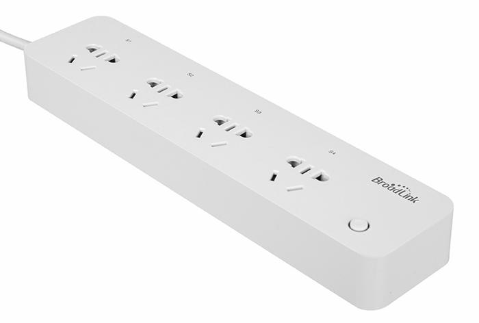 Broadlink Smart Wi-Fi Strip Sockets ปลั๊กพ่วงอัฉริยะสั่งงานผ่านมือถือสมาร์ทโฟน Wi-Fi, 3G, 4G รองรับ iOS, Android (White)