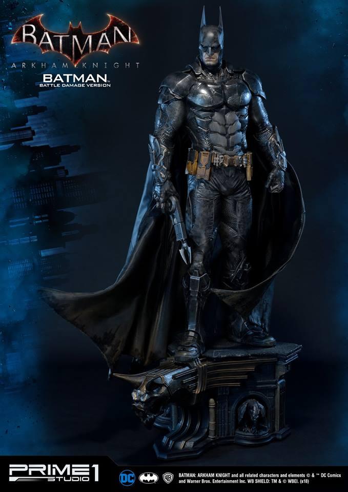 Prime 1 Studio MMDC-01BD BATMAN BATTLE DAMAGE VERSION (BATMAN ARKHAM KNIGHT)