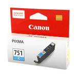 ตลับหมึกแท้ Canon Cli-751 สีฟ้า Cyan ราคา 540 บาท