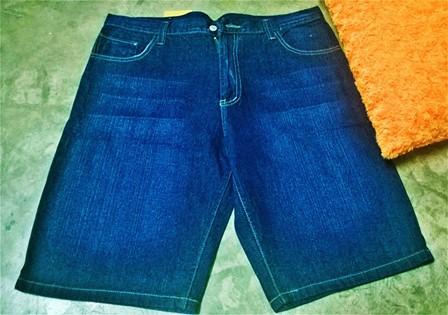 Jumbo Jeans ขาสั้น Size : 44-50 ราคา 790 บาท