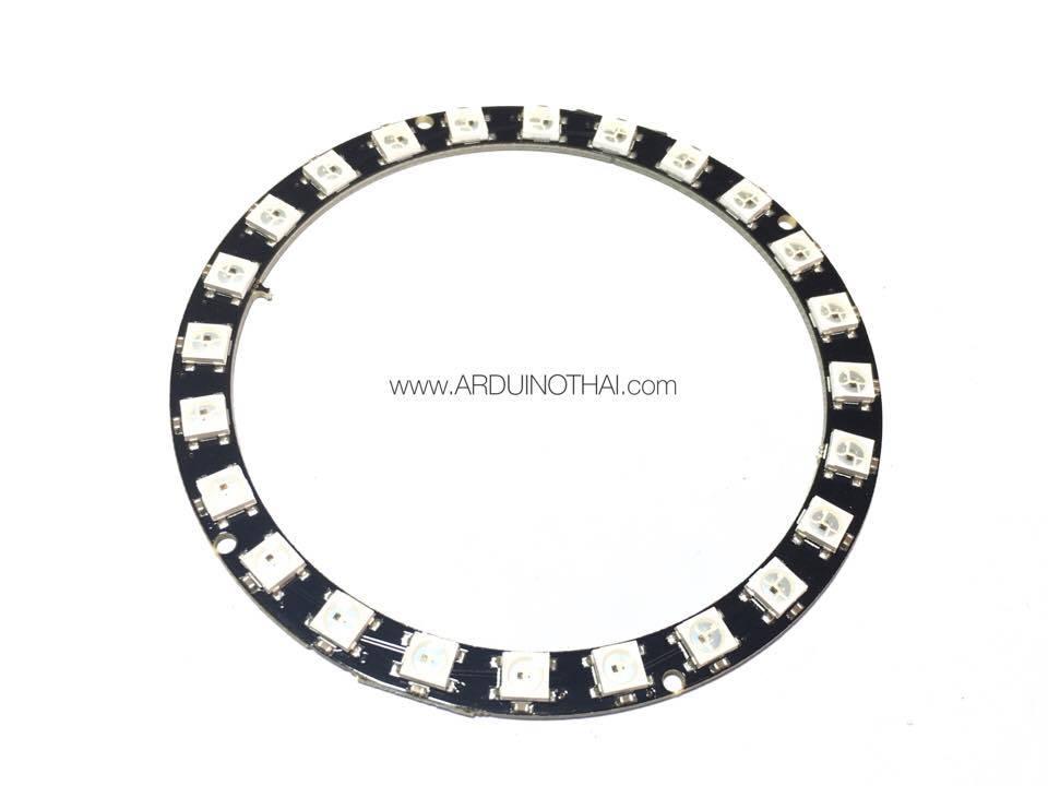 24xWS2812 5050 RGB LED RING(วงแหวน RGB LED 24ดวง)