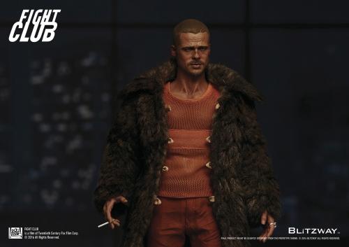 Blitzway BW-FC00325 Fight Club, 1999 Brad Pitt [Fur Coat Ver.]