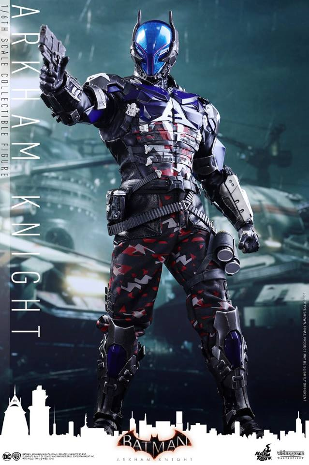 15/07/2017 Hot Toys VGM28 BATMAN: ARKHAM KNIGHT - ARKHAM KNIGHT