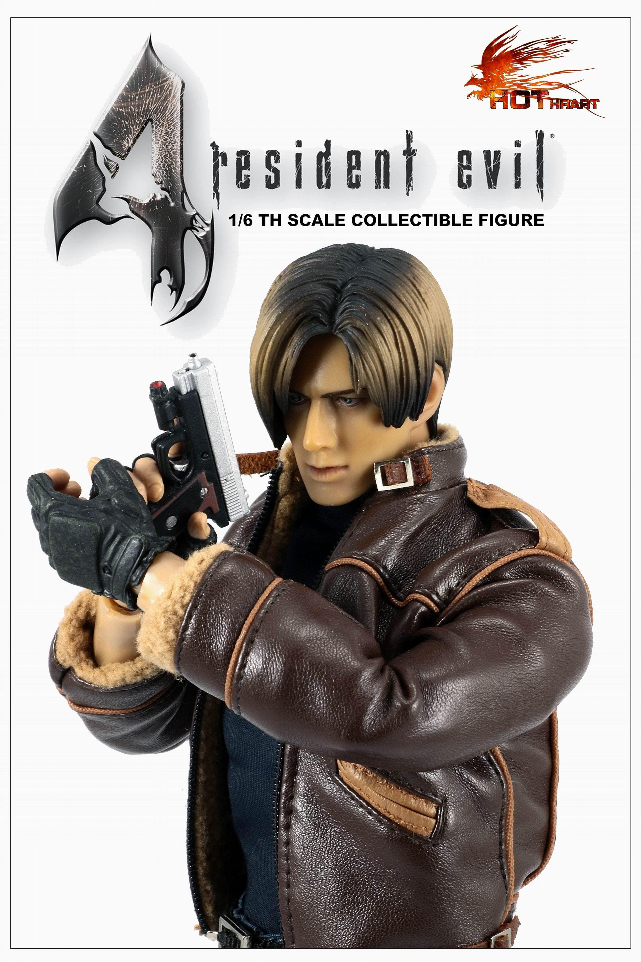 Hot Hrart Bio-Hazard Leon Police / Leather 2 Version