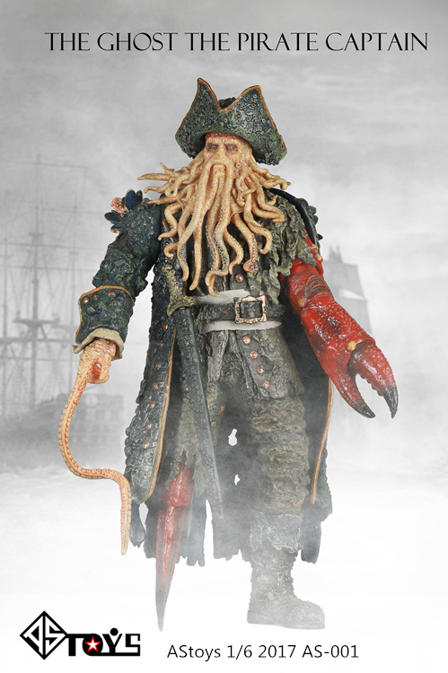 *The order is to be canceled* AStoys AS-001 1/6 The ghost the pirate captain