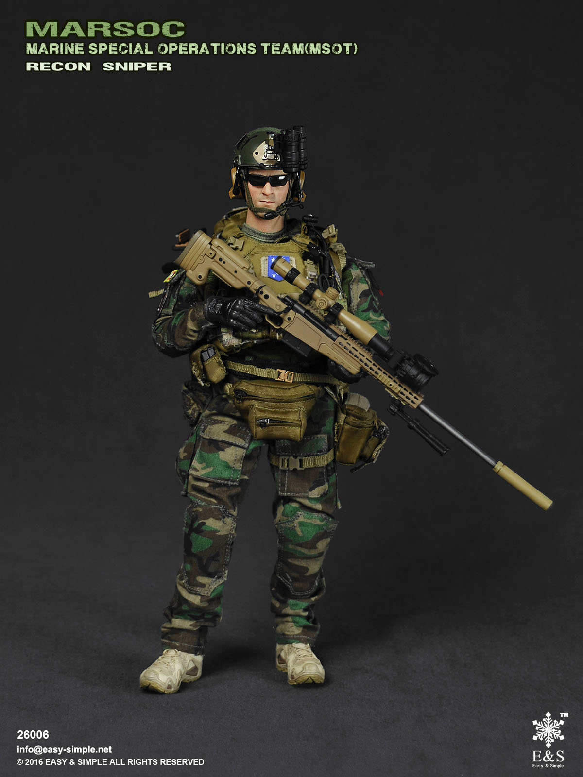 Easy & Simple 26006 MARSOC MSOT Recon Sniper on OSW