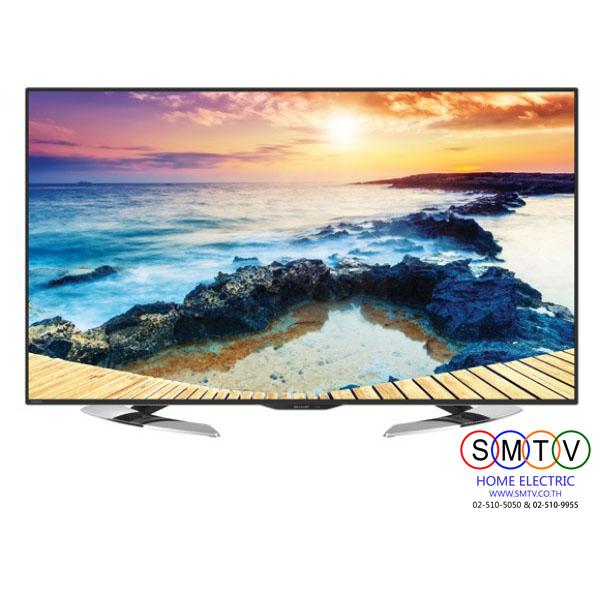 "UHD LED SMART DIGITAL TV 50"" SHARP รุ่น LC-50UE630X"