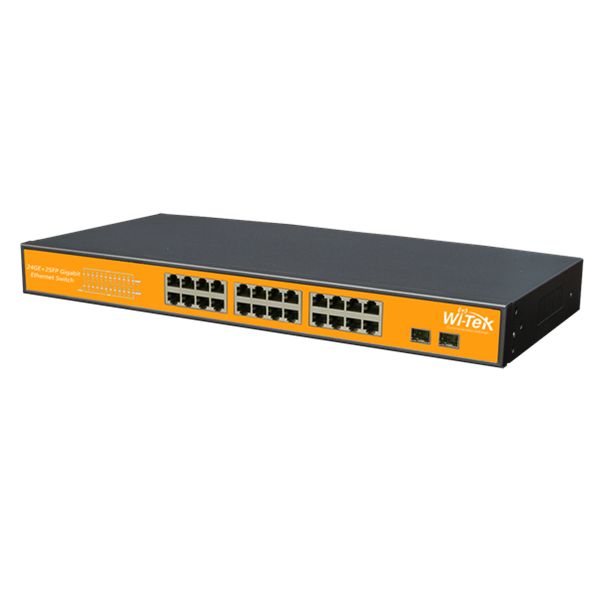 WI-SG124F Gigabit Switch