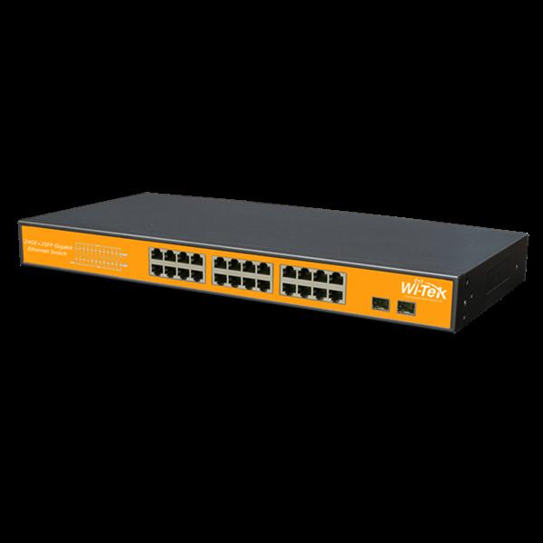 WI-SG124F Gigabit Switch