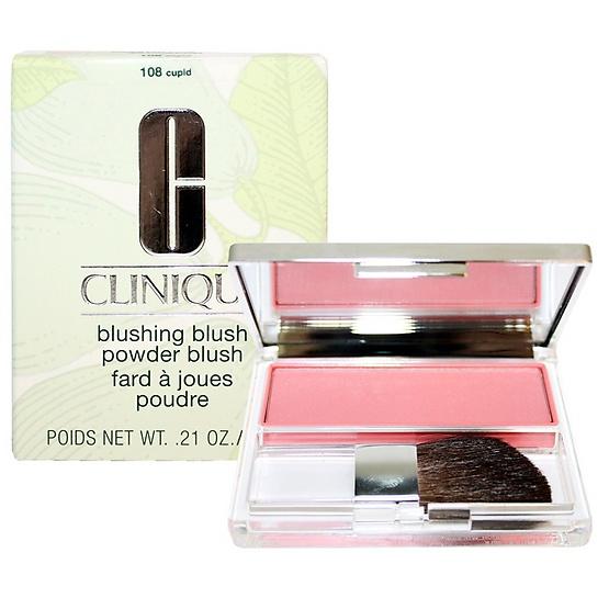 **พร้อมส่ง**Clinique Blushing Blush Powder Blush 6g. #108 Cupid บรัชออนสูตร Silky Powder ให้เนื้อละเอียด สีสันสดใส ชัดเจน พร้อมแปรงปัดรูปทรงพิเศษ อ่อนนุ่มทำจากขนสัตว์ชั้นดี ออกแบบให้ใช้งานง่าย มีปลายเรียวซึ่งจะช่วยปัดตามแนวโค้งและเพิ่มมิติแก่วงแก้ ,