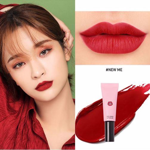 *พร้อมส่ง*3CE Liquid Lip Color สี NEW ME ลิปเนื้อแมทสีสวยที่สาวๆ ต้องหลงรัก เนรมิตริมฝีปากของสาวๆ ให้ดูมีสีสัน น่าค้นหา เนื้อแมทสีแน่น ติดทนได้ตลอดทั้งวัน รูปแบบแพคเกจที่เป็นหลอด ทาง่ายไม่เลอะเทอะ หรือจะใช้คู่กับแปรงก็ได้ เหมาะสำหรับพกไปเติมระหว่างว ,