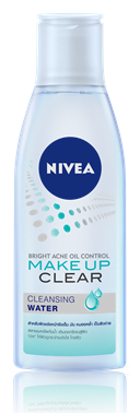 นีเวีย NIVEA BRIGHT ACNE OIL CONTROL MAKE UP CLEAR CLEANSING