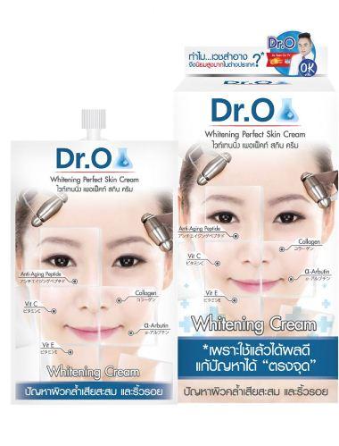 Snowgirl DR.O Whitening Perfect Skin Creamด็อกเตอร์โอ ไวท์เทนนิ่ง เพอเฟ็คท์ สกิน ครีม