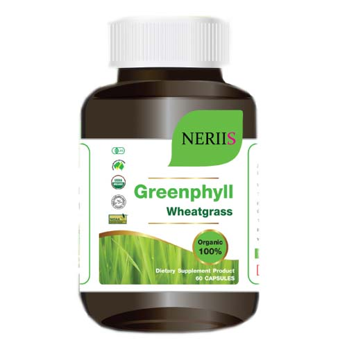 Neriis Greenphyll Wheatgrass เณรี่ส์ กรีนฟิล วีทกราส