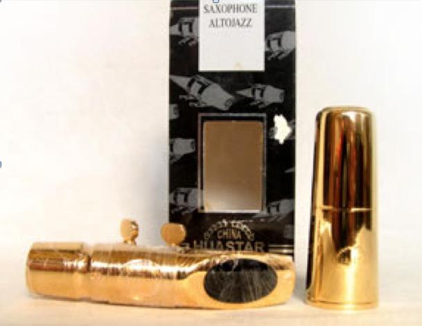 ปาก แซก Sax mouthpiece Gold Lacquer สีทอง SA-2
