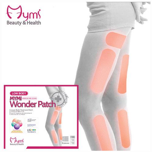 Mymi Wonder Patch Lower แผ่นแปะสลายไขมัน แขนเล็ก ขาเรียว สุดฮิตจากเกาหลี