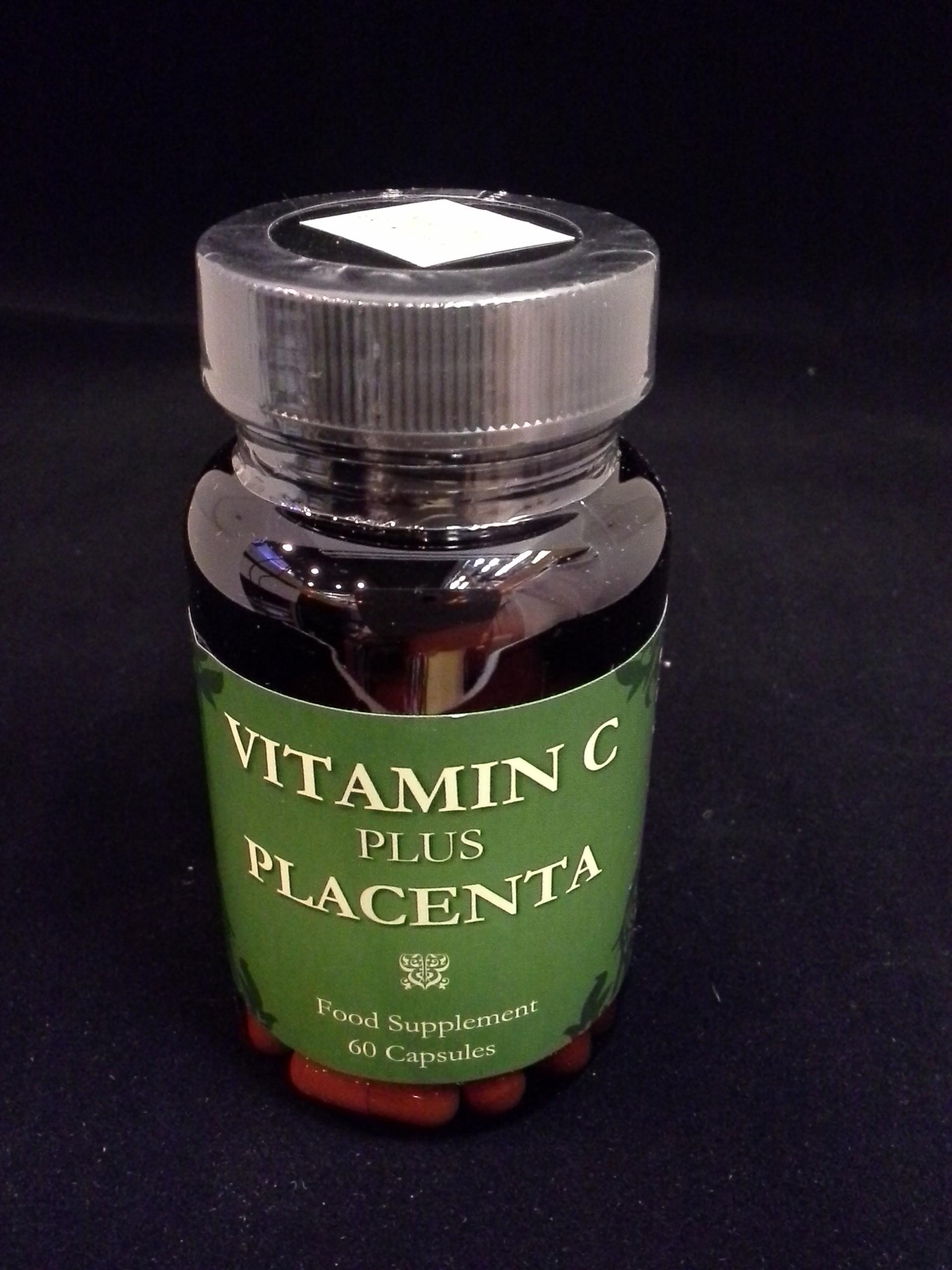 Vitamin C plus PLACENTA 60's