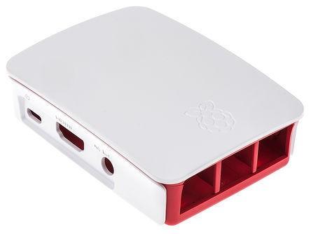 Raspberry Pi 2/3 Model B/B+ Case box red and white